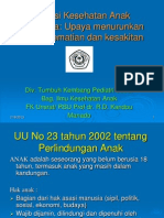 Situasi Kesehatan Anak Indonesia