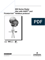 Level Transmitter With HART and Foundation FIELDbus Protocol