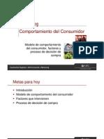 007. Clase 3 - Comportamiento Del Consumidor