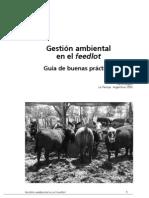Gestión ambiental en el feedlot. Guia de Buenas Prácticas