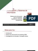 009. Clase 4 - Investigación y Sistemas de información
