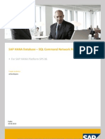 SAP HANA Database SQL Command Network Protocol En
