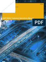 SAP HANA Technical Operations Manual En