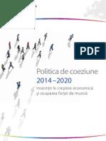 Politica de Coeziune 2014-2020