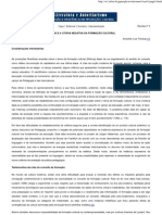 Literatura e Autoritarismo - Estudos Culturais