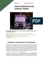 Brasil; Unas Movilizaciones Que Continuan