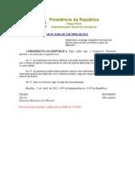 LEI Nº 12.605, DE 3 DE ABRIL DE 2012.