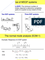 Ch5 - Response of MDOF Systems