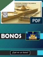 Bonos ,Conocimiento de Embarque y Carta de Porte