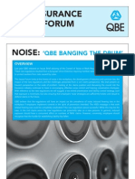 Noise Issues QBE Insurance Issues Forum