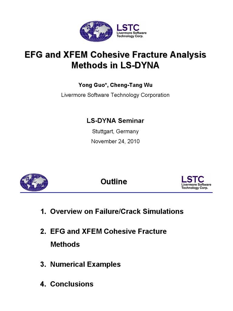Crack-propagation-methods-in-LS-DYNA | Fracture | Fracture Mechanics