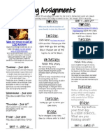 BLOG Assignments 2013-2014