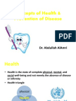 1stConcepts of Health
