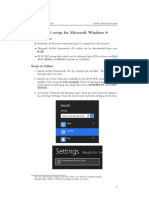 IIUM Community Wifi Tutorial for Windows 8