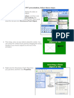 How To Play or Embed a Flash File (.Swf) a PPT Presentation