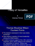 Treaty of Versaille & League of Nations