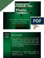 Toxicidade Das Plantas2013