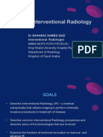 What is Interventional Radiology (Shahbaz Ahmed Qazi)
