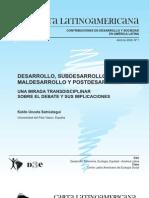Unceta Koldo - Desarrollo, Subdesarrollo, Maldesarrollo y Posdesarrollo (2009)