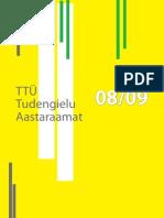 TTÜ Tudengiraamat 2008-2009