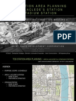 Preferred Plans for Arch Laclede's Landing Stadium MetroLink Station Areas