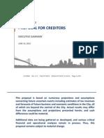 Detroit Creditor Proposal