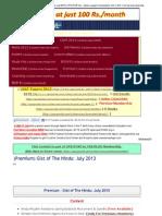 (Premium) Gist of the Hindu_ July 2013 _ UPSCPORTAL - India's Largest Community for IAS, CSAT, Civil Services Aspirants