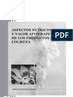 Propiedades apiterapeuticas productos de la colmena