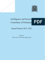 Intelligence and Security Committee of Parliament