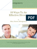 10 Ways to an Effective Divorce