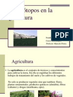 Isotopos en La Agricultura