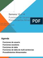 Base Datos - Tema Funciones y Procedimientos WBG