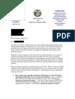 Lander Letter to Precinct Commanders