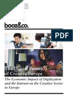 BoozCo the Digital Future of Creative Europe