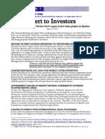 Investor Alert - Copper One June 2012 Final