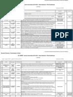 UFR SEN - EC Libres 2013-2014 - 4eme Semestre