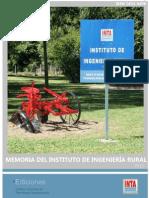 INTA-Memoria 2012 Del IIR