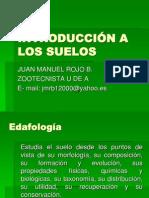 INTRODUCCIÓN A LOS SUELOS