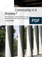 Whose Community Is It Anyway?