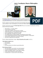 54630839 New York Jets DC Mike Pettine Shares Philosophies