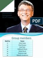 Bill Gates Ppt