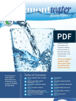 Longmont Drinking Water Quality Report for 2012