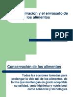 Las TIC en Industrias Alimentarias -Conservación de los alimentos-