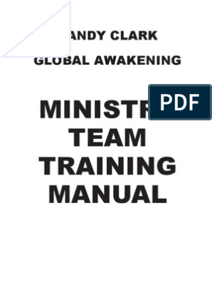 Ministry Training Manual PDF English 1 | Deliverance