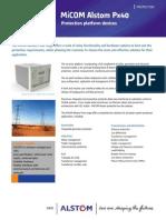 MiCOM Alstom Px40 Range Brochure GB