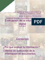 3.3.1. Evaluacion Fuentes Informacion 01-2012