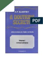 Helena Petrovna Blavatsky - A Doutrina Secreta Vol. I - Cosmogênese(pdf)(rev)