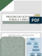 Proceso de Licitacion Publica y Privada