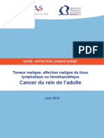 Cancer Du Rein Adulte PDF