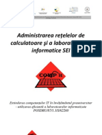Manual Curs 1 - Administrarea reţelelor de calculatoare şi a laboratoarelor informatice SEI